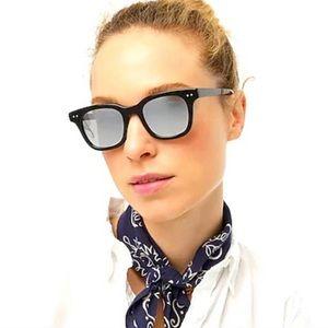 J crew cape sunglasses black